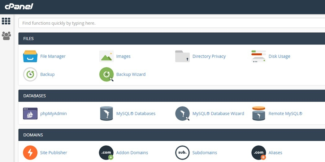 Backup Emails From cPanel Server Through FTP