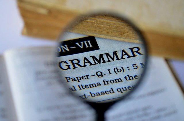 Resume Warning Signs Grammer