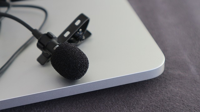 Video Interview microphone