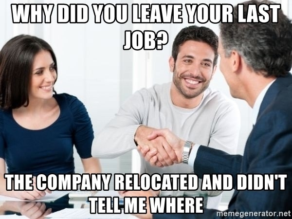 Interview Questions Why did you leave your last job