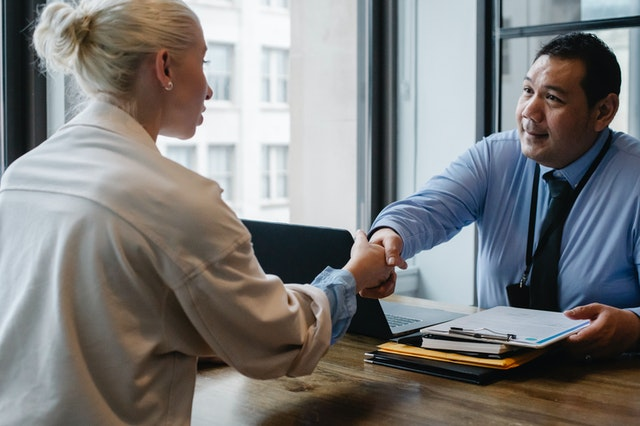 Staffing agencies conduct effective interviews